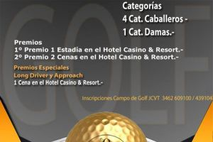 Abierto de Golf, 16 de Abril
