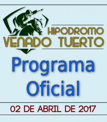 Programa oficial 02/04/2017