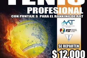 Torneo profesional de tenis
