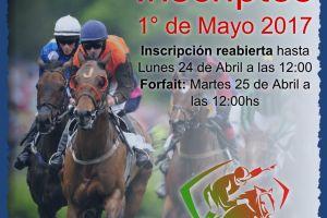 Inscriptos 1° de Mayo