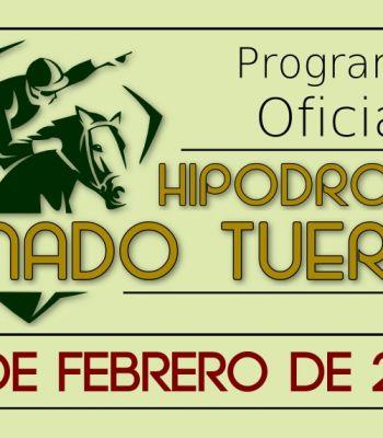 Programa oficial 19/02/2017